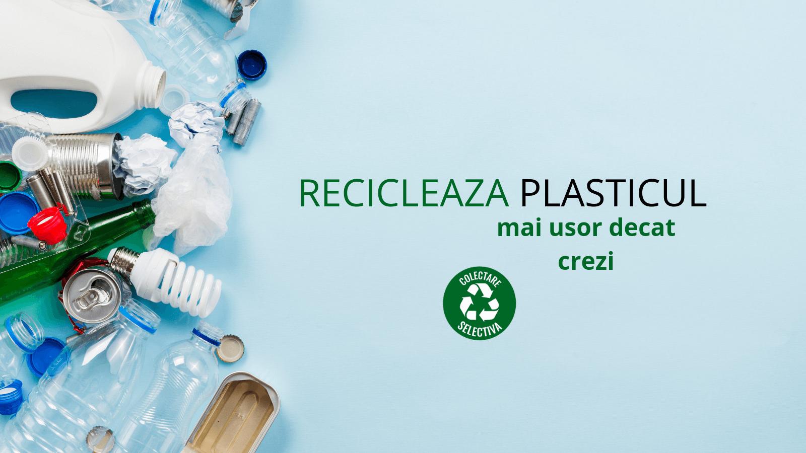 Reciclarea plasticului